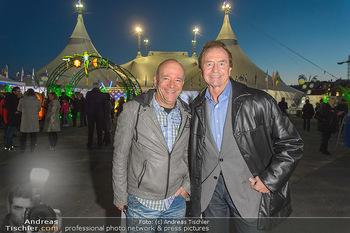 Cirque du Soleil - Zirkuszelt Neu Marx, Wien - Di 12.03.2019 - Andy LEE LANG, Heribert KASPER4