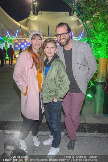 Cirque du Soleil - Zirkuszelt Neu Marx, Wien - Di 12.03.2019 - Gerald FLEISCHHACKER mit Freundin Tina HOLZER und Sohn Nuno11