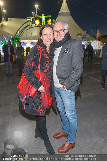 Cirque du Soleil - Zirkuszelt Neu Marx, Wien - Di 12.03.2019 - Michael SCHOTTENBERG mit Claire16