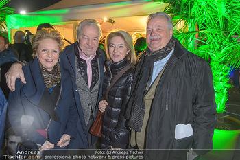 Cirque du Soleil - Zirkuszelt Neu Marx, Wien - Di 12.03.2019 - Gerhard ERNST mit Ehefrau Ulrike Ulli KIRCHTAG, Ingeborg und Har18