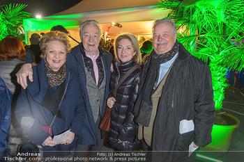 Cirque du Soleil - Zirkuszelt Neu Marx, Wien - Di 12.03.2019 - Gerhard ERNST mit Ehefrau Ulrike Ulli KIRCHTAG, Ingeborg und Har19