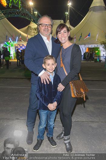 Cirque du Soleil - Zirkuszelt Neu Marx, Wien - Di 12.03.2019 - Adi Adriana ZARTL mit Sohn Luca, Andreas STICH22