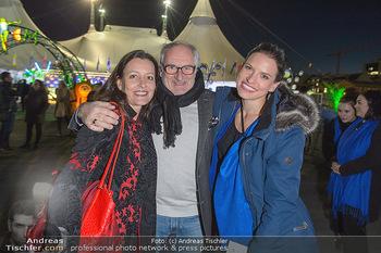 Cirque du Soleil - Zirkuszelt Neu Marx, Wien - Di 12.03.2019 - Michael SCHOTTENBERG mit Freundin Claire und Tanzpartnerin Conny23