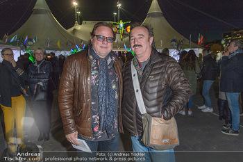 Cirque du Soleil - Zirkuszelt Neu Marx, Wien - Di 12.03.2019 - OPUS Herwig RÜDISSER und Ewald PFLEGER28
