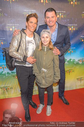Cirque du Soleil - Zirkuszelt Neu Marx, Wien - Di 12.03.2019 - Michaela DORFMEISTER mit Tochter Lea und Freund Thomas LERCH44