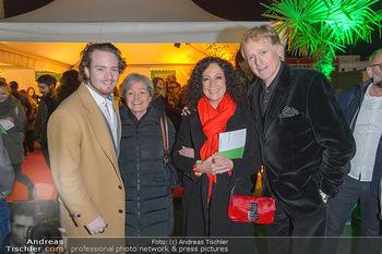 Cirque du Soleil - Zirkuszelt Neu Marx, Wien - Di 12.03.2019 - Barbara WUSSOW, Albert FORTELL mit Sohn Nikolaus, Elisabeth FALL47