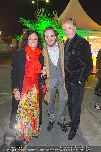 Cirque du Soleil - Zirkuszelt Neu Marx, Wien - Di 12.03.2019 - Barbara WUSSOW, Albert FORTELL mit Sohn Nikolaus53