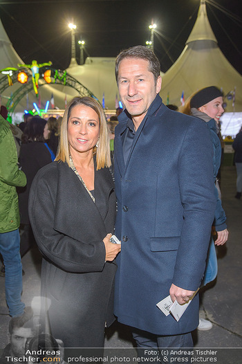 Cirque du Soleil - Zirkuszelt Neu Marx, Wien - Di 12.03.2019 - Franko FODA und Ehefrau Andrea58