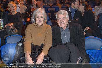 Cirque du Soleil - Zirkuszelt Neu Marx, Wien - Di 12.03.2019 - Sigi BERGMANN mit Ehefrau Ingeborg79