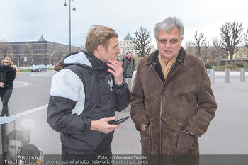 Masters of Dirt meets Bundeskanzler Sebastian Kurz - Bundeskanzleramt, Ballhausplatz, Wien - Do 14.03.2019 - Georg FECHTER mit Vater Herbert FECHTER10
