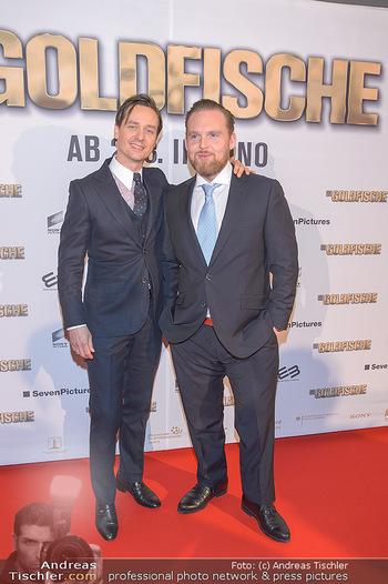 Kinopremiere ´Die Goldfische´ - Cineplexx Donauplex Wien - Do 14.03.2019 - Tom SCHILLING, Axel STEIN24
