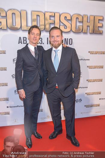 Kinopremiere ´Die Goldfische´ - Cineplexx Donauplex Wien - Do 14.03.2019 - Tom SCHILLING, Axel STEIN25