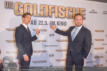 Kinopremiere ´Die Goldfische´ - Cineplexx Donauplex Wien - Do 14.03.2019 - Tom SCHILLING, Axel STEIN28