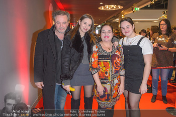 Kinopremiere ´Die Goldfische´ - Cineplexx Donauplex Wien - Do 14.03.2019 - Familie Maria HAPPEL mit Dirk und Kindern Paula und Annemarie43