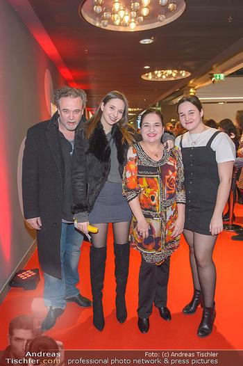 Kinopremiere ´Die Goldfische´ - Cineplexx Donauplex Wien - Do 14.03.2019 - Familie Maria HAPPEL mit Dirk und Kindern Paula und Annemarie44