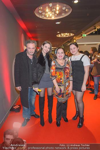 Kinopremiere ´Die Goldfische´ - Cineplexx Donauplex Wien - Do 14.03.2019 - Familie Maria HAPPEL mit Dirk und Kindern Paula und Annemarie45