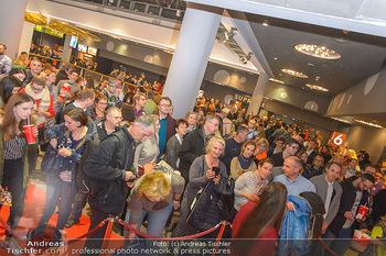 Kinopremiere ´Die Goldfische´ - Cineplexx Donauplex Wien - Do 14.03.2019 - Menschenmassen, Ansturm aufs Kino92