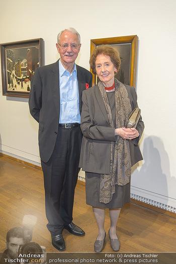 Ausstellungseröffnung Wien um 1900 - Leopold Museum - Fr 15.03.2019 - Agnes und Karlheinz ESSL62