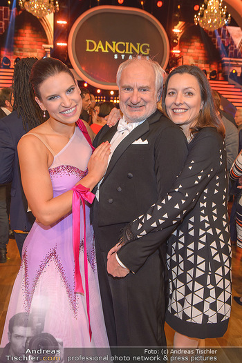 Dancing Stars - ORF Zentrum - Fr 15.03.2019 - Michael SCHOTTENBERG mit Freundin Claire und Tanzpartnerin Conny39