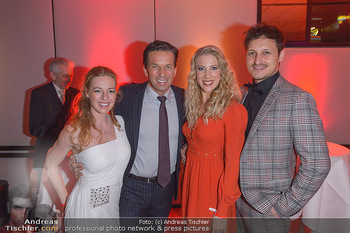 Dancing Stars - ORF Zentrum - Fr 15.03.2019 - Martin FERDIY mit Ehefrau Tina, Marco ANGELINI, Maria SANTNER47