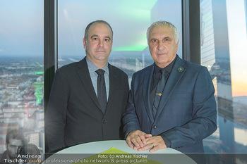 Spusu office Erweiterung - DC Tower 1 Wien - Do 21.03.2019 - Hans KRANKL mit Sohn Johann1