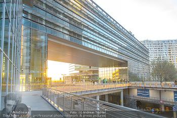 Spusu office Erweiterung - DC Tower 1 Wien - Do 21.03.2019 - Moderne Architektur Tech Gate Vienna Donauplatte Bürokomplex DC2