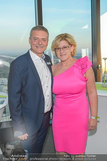 Spusu office Erweiterung - DC Tower 1 Wien - Do 21.03.2019 - Franz PICHLER mit Ehefrau Andrea7