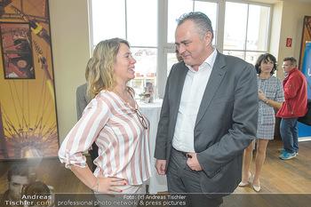 Mörbisch PK zu Land des Lächelns - Waggon 31 Wien - Do 04.04.2019 - Sandra KARTIK, Hans-Peter DOSKOZIL19