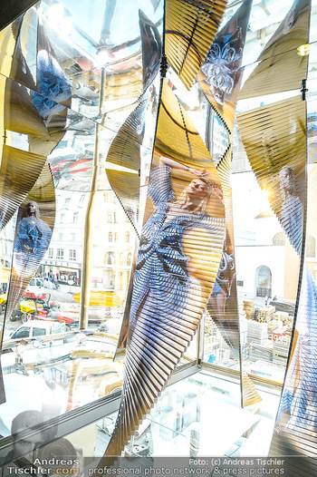 Swarovski Kunstinstallation - Swarovski Store Wien - Mo 08.04.2019 - 5
