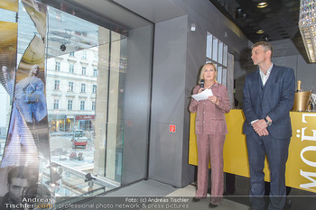 Swarovski Kunstinstallation - Swarovski Store Wien - Mo 08.04.2019 - 20