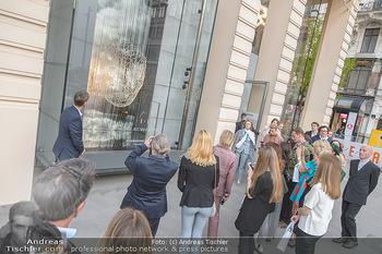 Swarovski Kunstinstallation - Swarovski Store Wien - Mo 08.04.2019 - 26