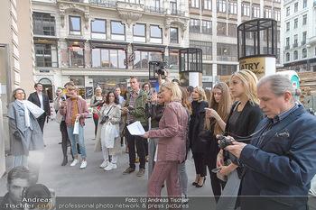 Swarovski Kunstinstallation - Swarovski Store Wien - Mo 08.04.2019 - 27
