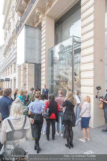 Swarovski Kunstinstallation - Swarovski Store Wien - Mo 08.04.2019 - 29