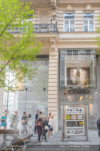 Swarovski Kunstinstallation - Swarovski Store Wien - Mo 08.04.2019 - Kunstwerk31