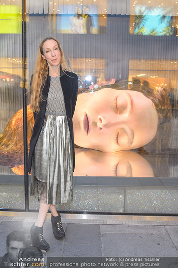Swarovski Kunstinstallation - Swarovski Store Wien - Mo 08.04.2019 - Iris VAN HERPEN47