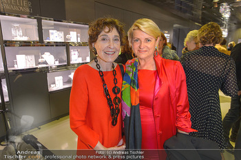 Swarovski Kunstinstallation - Swarovski Store Wien - Mo 08.04.2019 - Helene VAN DAMM, Marlies MUHR92