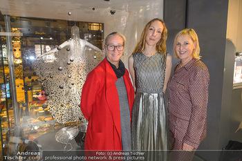 Swarovski Kunstinstallation - Swarovski Store Wien - Mo 08.04.2019 - Agnes HUSSLEIN, Iris VAN HERPEN, Carla RUMLER102