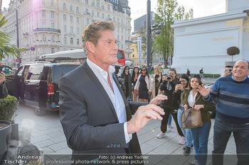 David Hasselhoff für Admiral PK - Novomatic Forum, Wien - Di 09.04.2019 - David HASSELHOFF8