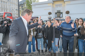 David Hasselhoff für Admiral PK - Novomatic Forum, Wien - Di 09.04.2019 - David HASSELHOFF begrüßt Fans, Touristen17