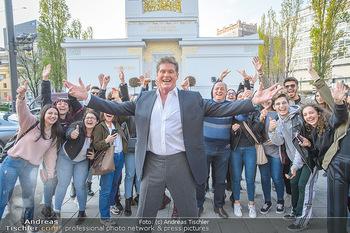 David Hasselhoff für Admiral PK - Novomatic Forum, Wien - Di 09.04.2019 - David HASSELHOFF mit Fans, Touristen24