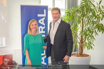 David Hasselhoff für Admiral PK - Novomatic Forum, Wien - Di 09.04.2019 - David HASSELHOFF, Monika RACEK30
