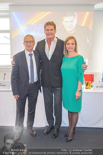 David Hasselhoff für Admiral PK - Novomatic Forum, Wien - Di 09.04.2019 - David HASSELHOFF, Paul KOZELSKY, Monika RACEK31