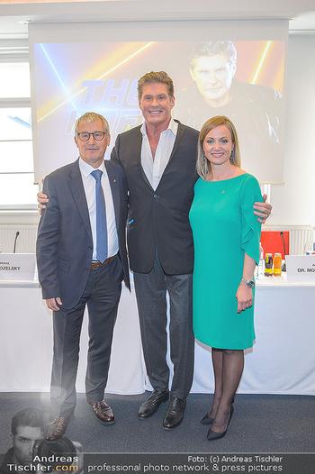 David Hasselhoff für Admiral PK - Novomatic Forum, Wien - Di 09.04.2019 - David HASSELHOFF, Paul KOZELSKY, Monika RACEK32