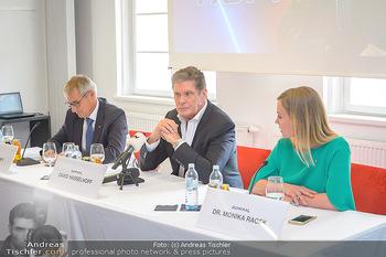 David Hasselhoff für Admiral PK - Novomatic Forum, Wien - Di 09.04.2019 - David HASSELHOFF, Paul KOZELSKY, Monika RACEK bei der Pressekonf39