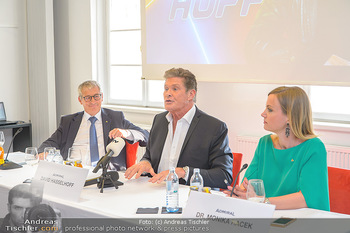 David Hasselhoff für Admiral PK - Novomatic Forum, Wien - Di 09.04.2019 - 42