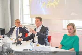 David Hasselhoff für Admiral PK - Novomatic Forum, Wien - Di 09.04.2019 - David HASSELHOFF, Paul KOZELSKY, Monika RACEK bei der Pressekonf44