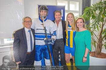 David Hasselhoff für Admiral PK - Novomatic Forum, Wien - Di 09.04.2019 - David HASSELHOFF, Paul KOZELSKY, Monika RACEK und Spielern50