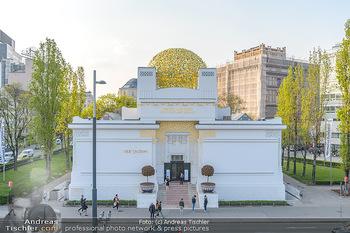 David Hasselhoff für Admiral PK - Novomatic Forum, Wien - Di 09.04.2019 - Secession Wien, goldene Kuppel57