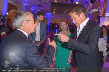 David Hasselhoff für Admiral PK - Novomatic Forum, Wien - Di 09.04.2019 - David HASSELHOFF, Paul KOZELSKY, Monika RACEK101