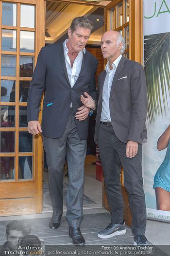 David Hasselhoff für Admiral PK - Novomatic Forum, Wien - Di 09.04.2019 - David HASSELHOFF, Rudi KOBZA103